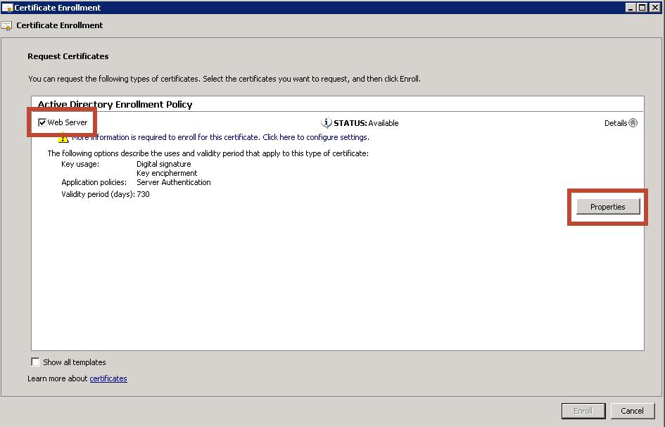 File Director San Certificates