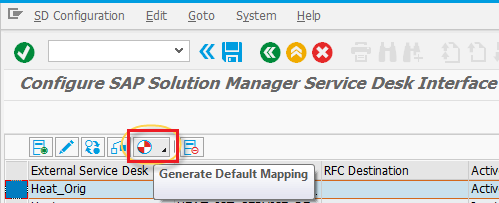 Configuring SAP® Solution Manager Settings