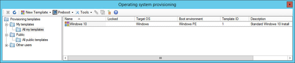 Provisioning overview