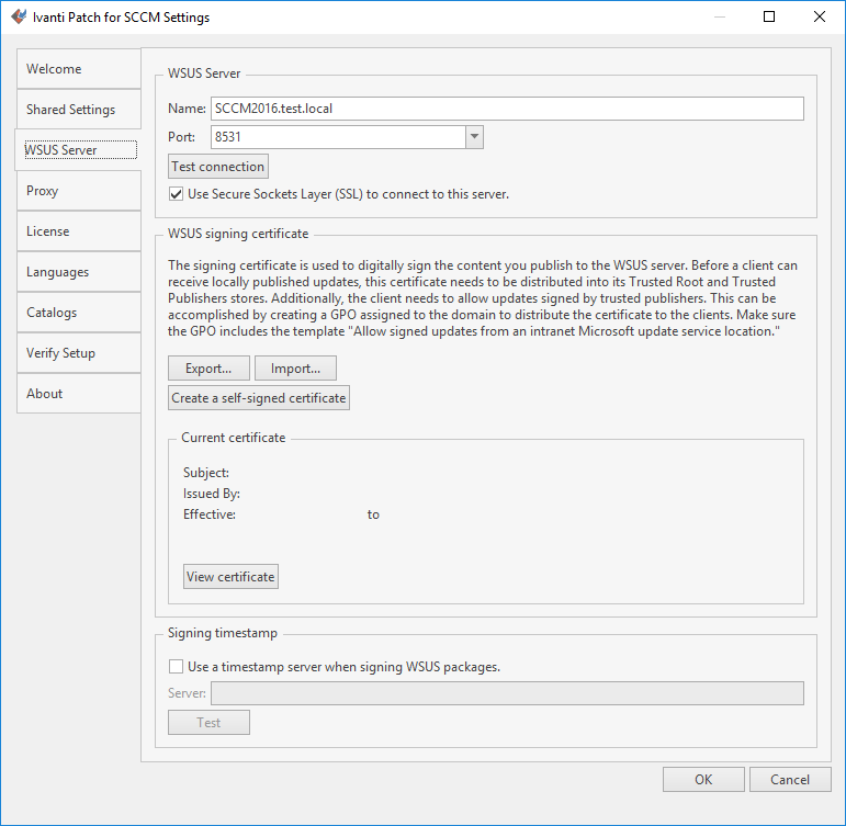 Using Ivanti Patch To Create A Code Signing Certificate