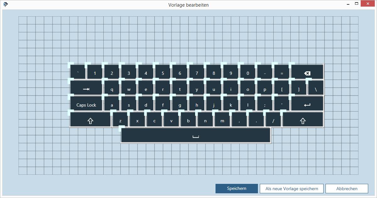 Keyboard Template Public Domain Vectors
